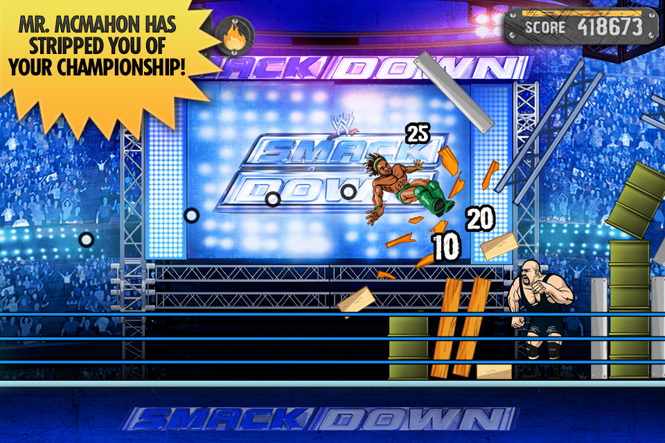 Screenshot WWE Superstar Slingshot Review